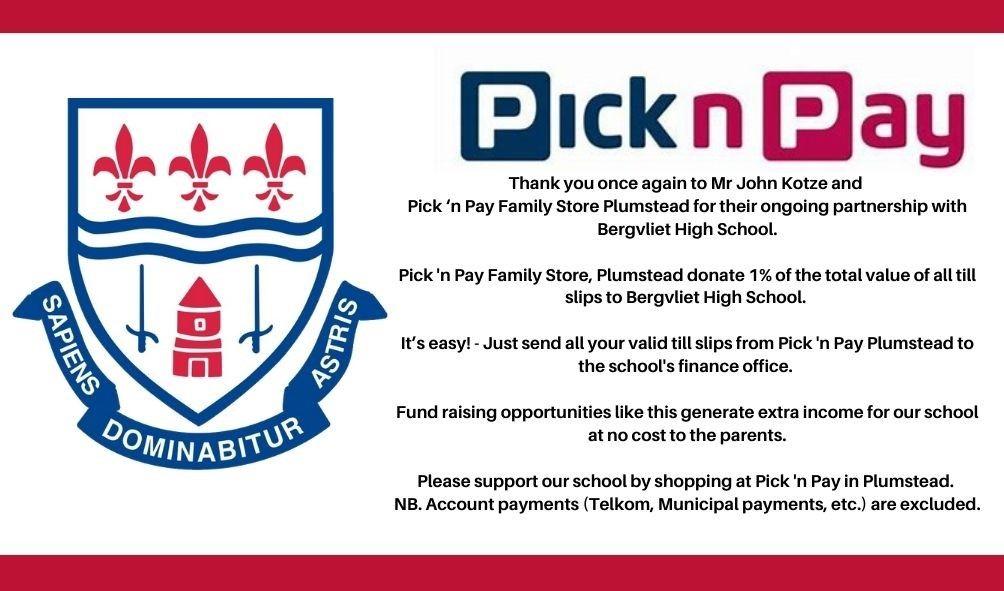 BHS - Pick 'n Pay