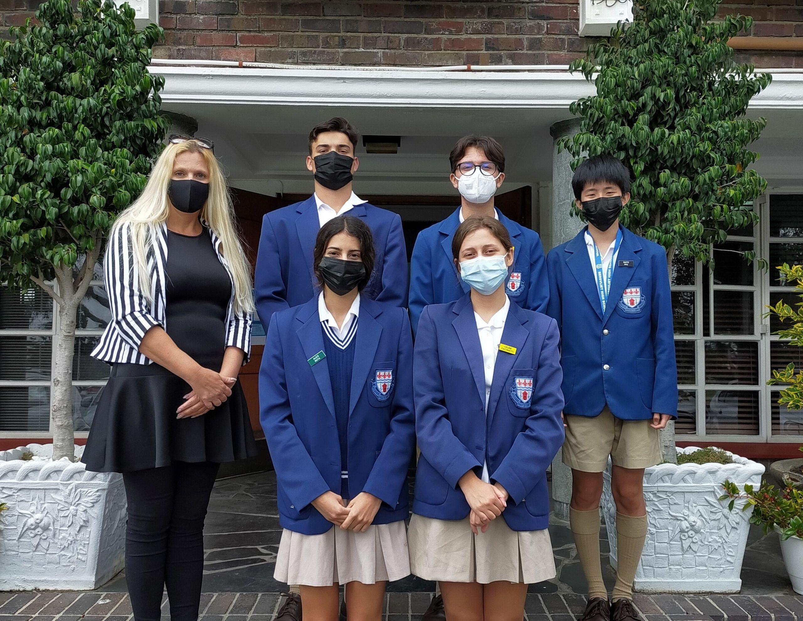 New exchange students arrive at Bergvliet High School